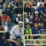 Jamaica College Robotic Team in the stands with family