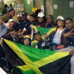 The Jamaica College Robotic Team with some of the family members and old boys that  visited