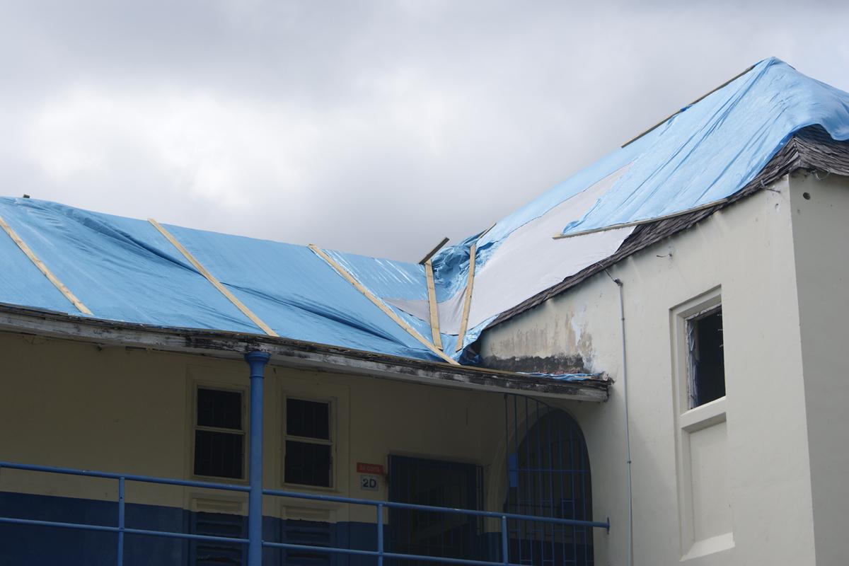 Jamaica College Scotland Building Needs Repair