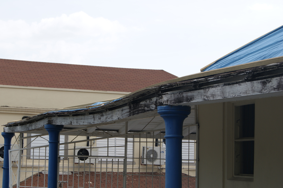 Jamaica College Scotland Building Needs Repair